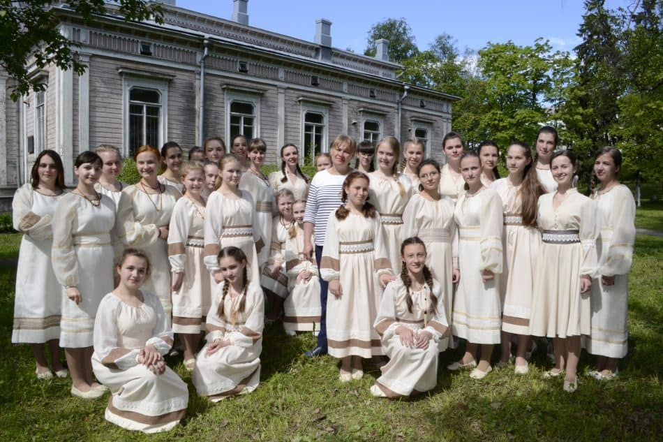Хор «Теллерво» Дворца творчества детей и юношества Петрозаводска