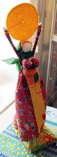 Валерия Мошнягуца. Кукла «Масленица»