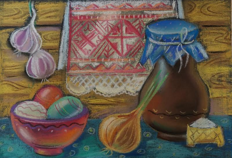 """Проект """"Живая вышивка"""" в Музее изобразительных искусств РК"""