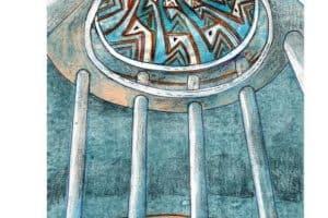 Ротонду предлагают расписать в стилистике петроглифов Онежского озера
