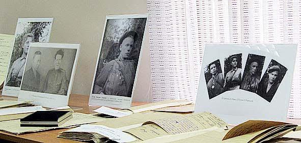 Фрагмент выставки в Национальном архиве