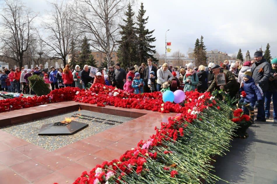 День Победы в Петрозаводске. 9 мая 2017 года. Фото Владимира Ларионова