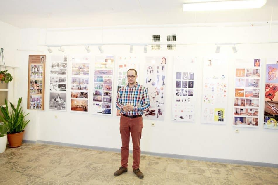 Открывал выставку новый председатель правления Карельского регионального отделения Союза дизайнеров России Егор Пермяков