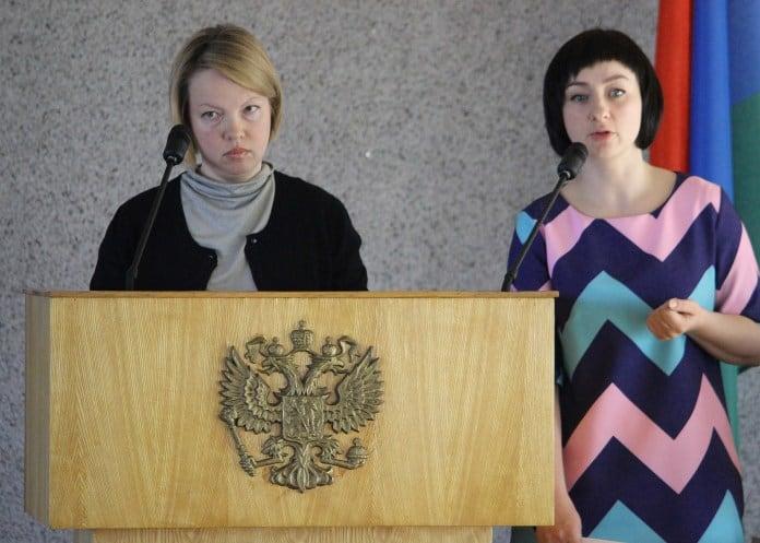 Дарья Каликина и Анастасия Неровная. Фото: Сергей Мятухин, Черника