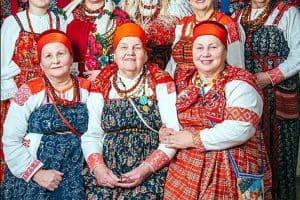 Фольклорный театр поморской культуры «Сузёмье» из Архангельска