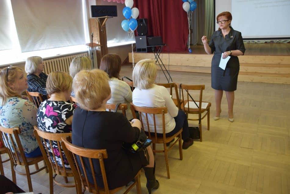 Директор лицея Анжелика Гуденко на семинаре для заместителей директоров