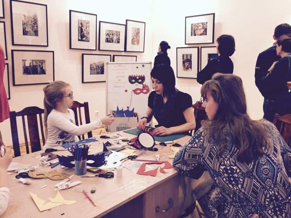 Мастер-класс в Музее изобразительных искусств