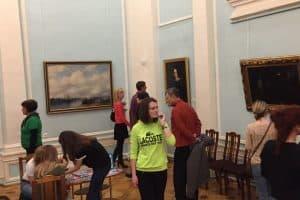 В Музее изобразительных искусств