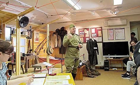 Юрий Москалев, представитель музейно-выставочного комплекса «Полет», давнего партнера Национального музея