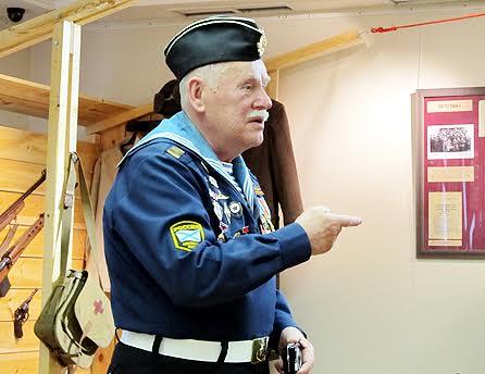Владимир Егорович Патроев передал на хранение письмо отца из плена