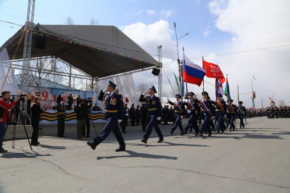 Торжественное прохождение войск Петрозаводского гарнизона