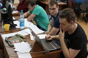 В ПетрГУ проходят сборы участников финала чемпионата мира по программированию