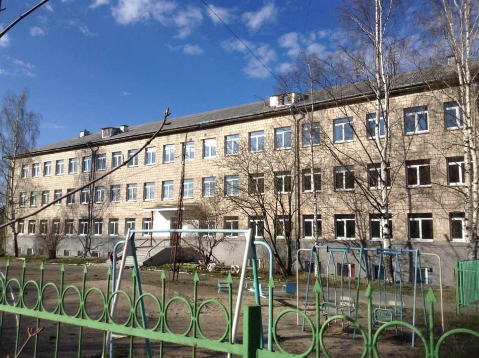 23 мая 2017 года. Это тот корпус, в котором находилась в последние годы школа-интернат №22
