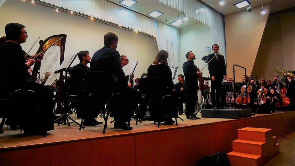 Мариус Стравинский, Илья Гайсин и симфонический оркестр Карельской филармонии