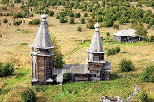Храм Великомученницы Варвары. Еще в Яндомозере...
