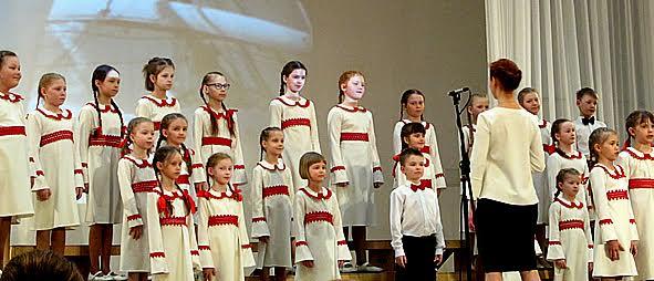Кандидатский хор детской хоровой студии «Теллерво»