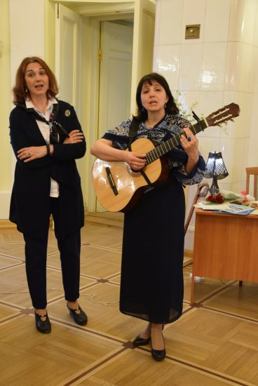 Инна Кабашная (слева) и Екатерина Шибко