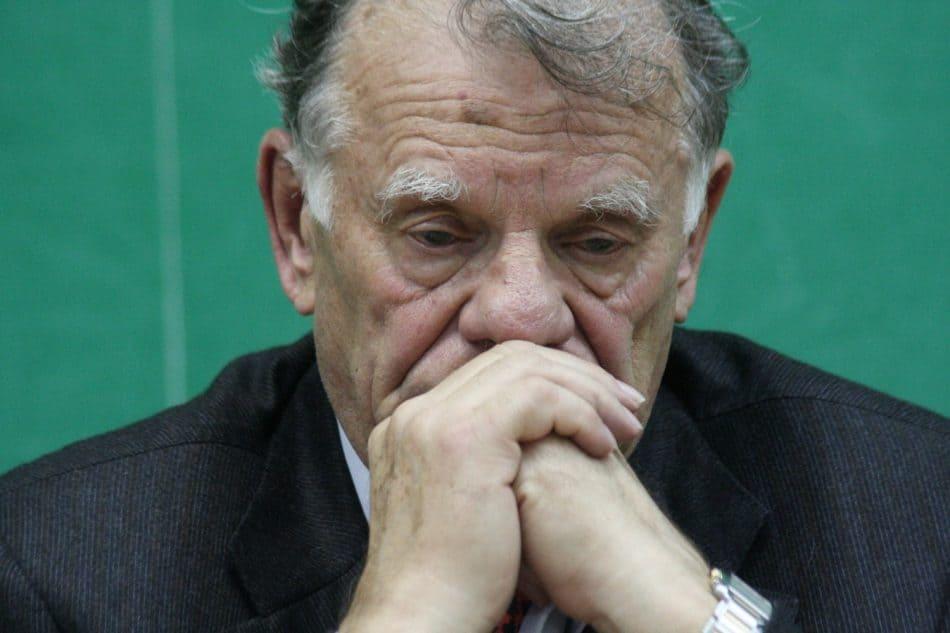 Нобелевский лауреат, физик Жорес Алферов. Октябрь 2006 года