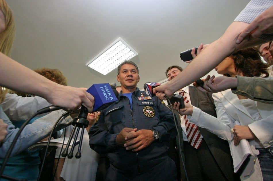 Министр МЧС Сергей Шойгу