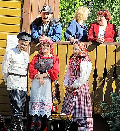 Фольклорный праздник в Олонце