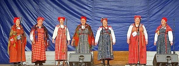 Фольклорный театр поморской культуры «Сузёмье» из Архангельска в нашем конкурсе завоевал диплом первой степени