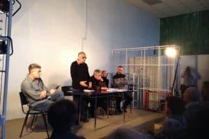"""Григорий Фукс: """"Идея пьесы - настоящее искусство должно быть чумой для власти"""""""