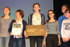 Награждение лауреатов фестиваля