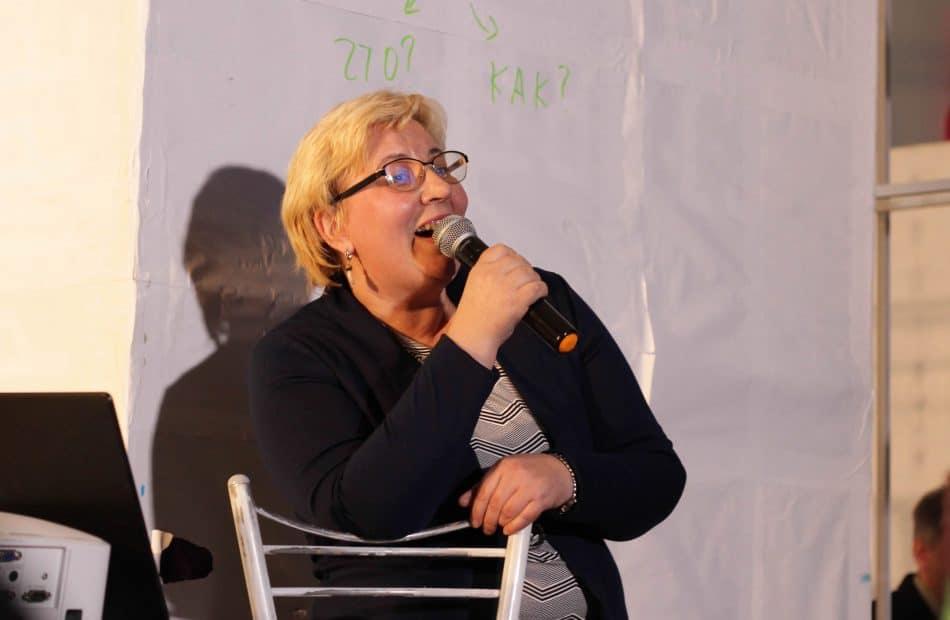 Наталья Самсонова. Фото Марии Гудковой
