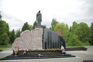 Открыт мемориал памяти узников, погибших в концлагерях Петрозаводска в годы Великой Отечественной войны