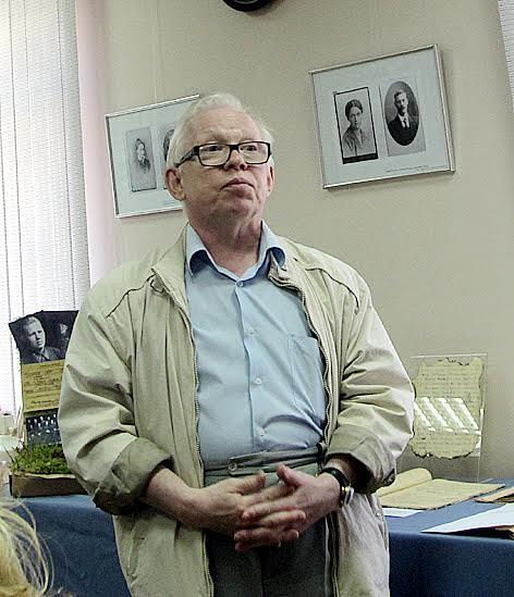 Председатель военно-исторического общества РК Герман Чумаков – историк партизанского движения в Карелии
