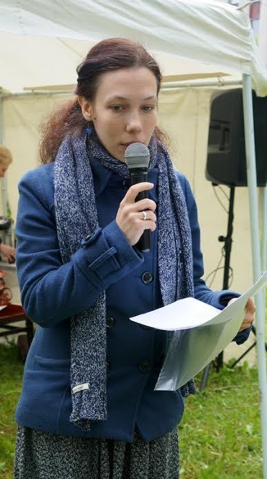 Самая молодая представительница журналистского цеха Анна Селюцкая