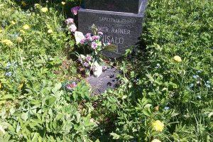Вот так на 16 июня этого года выглядит захоронение и могила выдающего композитора