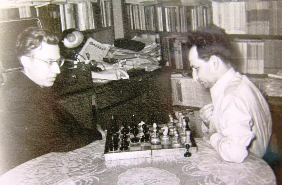 """Наум Славин, """"шахматёр"""""""