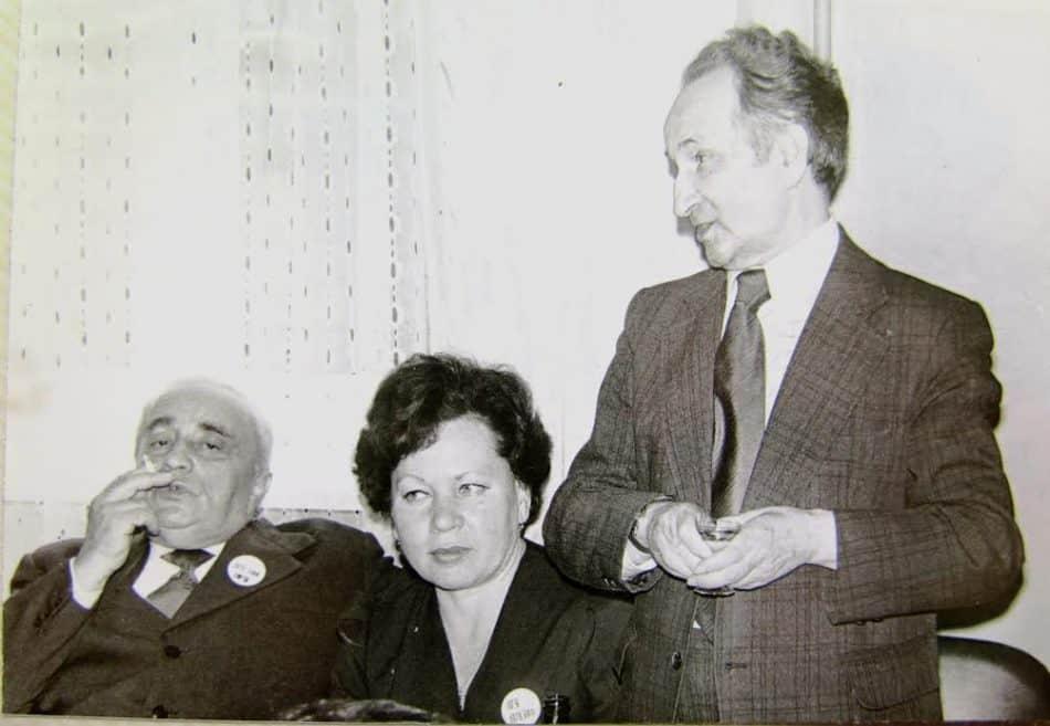 Наум Славин (справа) и Александр Витухновский (слева)