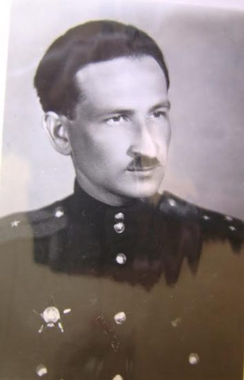 Наум Славин в мае 1945 года