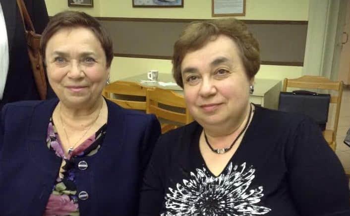 Алла (слева) и Марина Витухновская