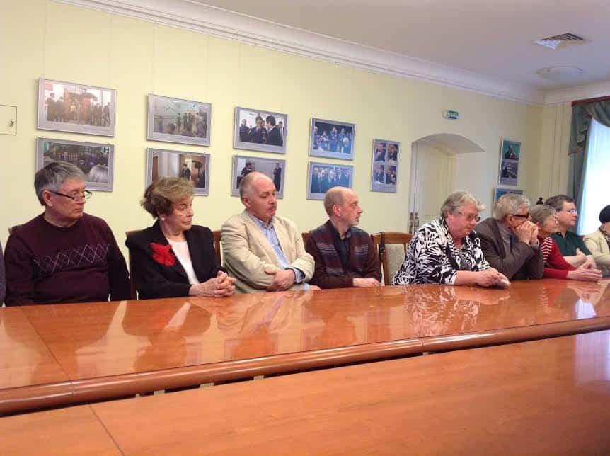 Бывшие студенты Александра Лазаревича Витухновского