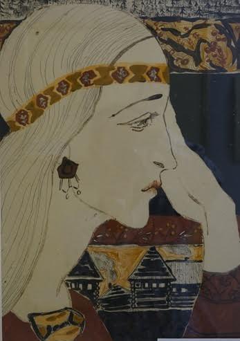 На выставке Тамары Юфа