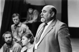 Исаак Самойлович Фрадков. 1985 год