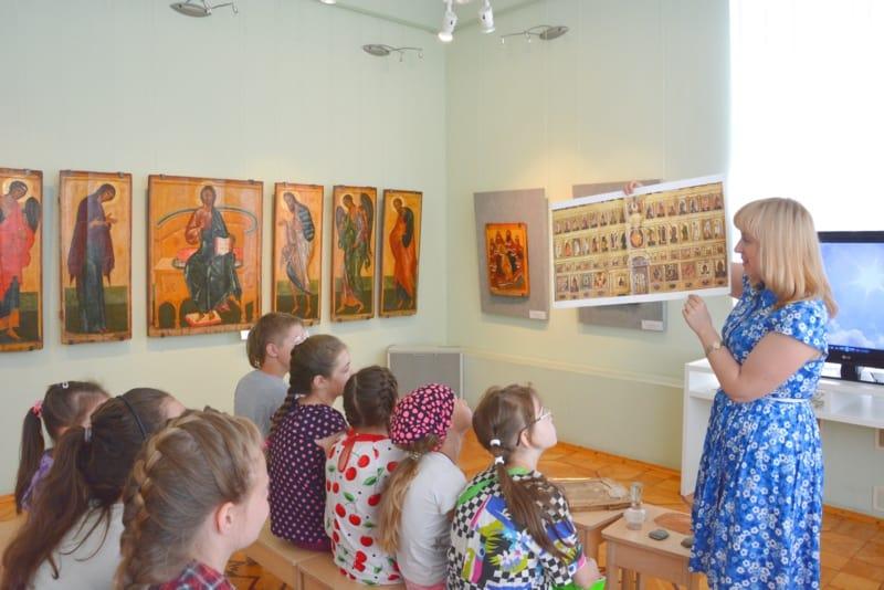 В Музее изобразительных искусств Карелии завершился грантовый проект «Православные каникулы»