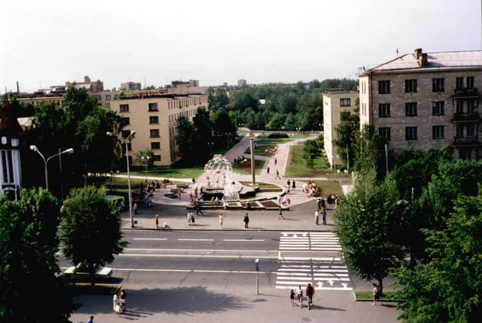 Фонтан на Студенческом бульваре. Фото: Евгений Таев