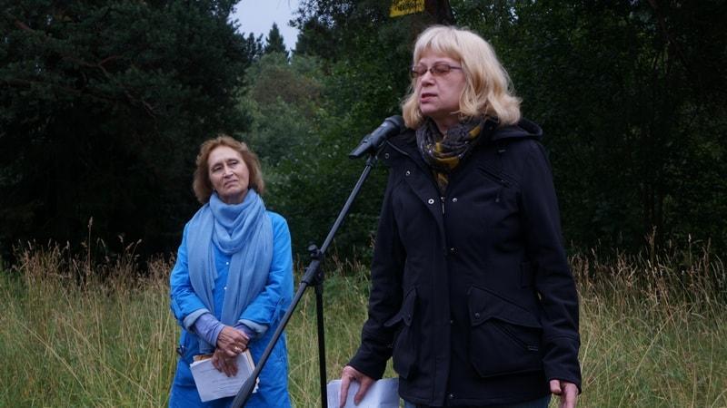 Наталья Гальцина (слева) и Елена Ларцева продолжили традицию Цветаевских костров
