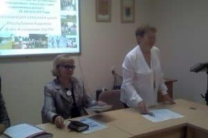 Зинаида Ефлова (слева) и Татьяна Танцева
