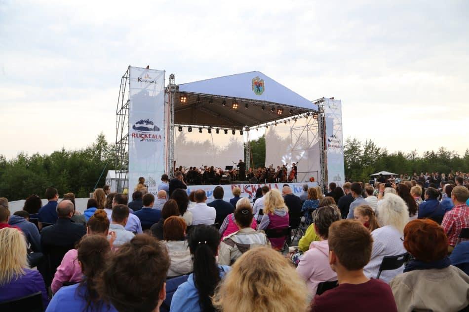 Фестиваль Ruskeala Symphony. Фото Владимира Ларионова