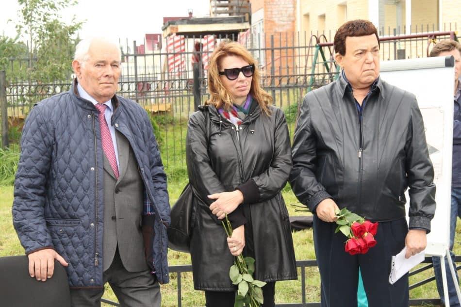 Леонид Рошаль, Екатерина Рождественская и Иосиф Кобзон в Петрозаводске