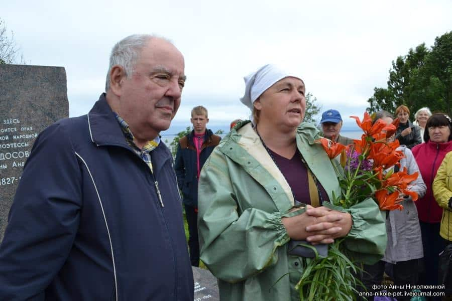 Михаил Гольденберг и Валентина Сукотова. Фото Анны Ларионовой