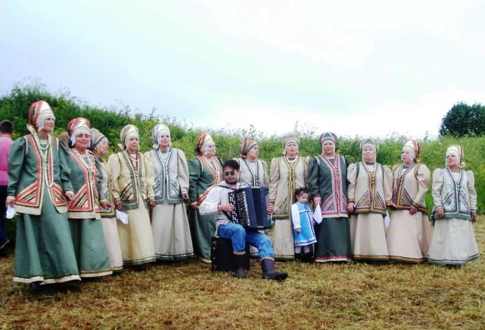Народный хор из Медгоры. Фото Тамары Шиковой
