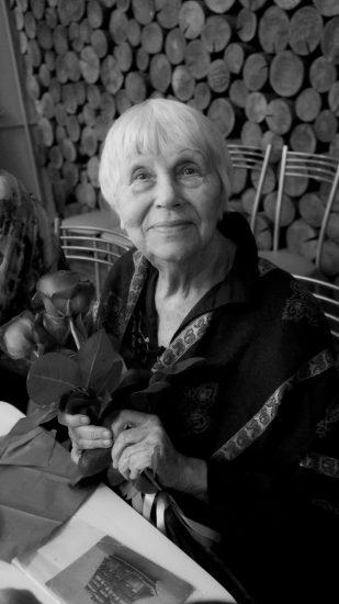 Наталья Ларцева. Один из последних снимков. Фото Ирины Ларионовой