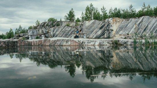 """Горный парк """"Рускеала"""": итальянский карьер. Фото с сайта www.tripadvisor.ru"""