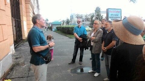 Памятная доска Георгию Ситкою 18 августа 2017 года, Петрозаводск